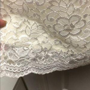 Worthington Dresses - Off white lace dress